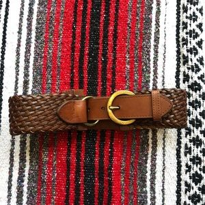 LOFT leather belt.